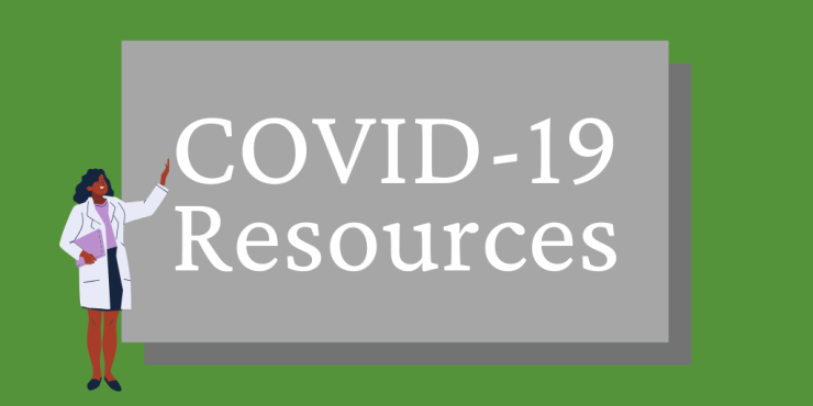 Green and White Covid-19 Guidelines Twitter Post